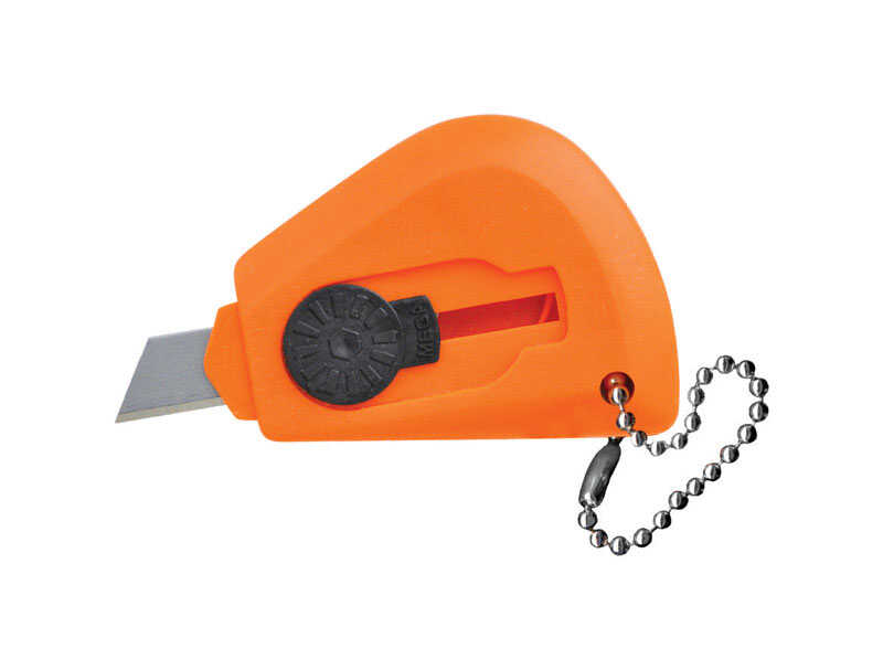 Ace  2.5 in. Utility Knife  Orange  1 pc. Fixed Blade