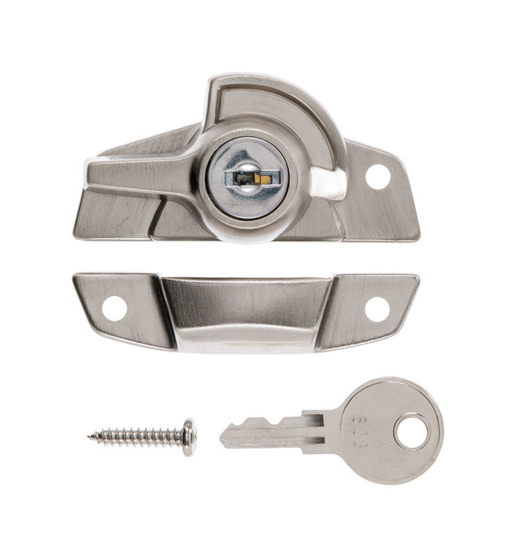 Ace  Die-Cast Zinc  Window Lock  Satin Nickel