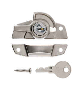 Ace  Window Lock  1 pk Die-Cast Zinc  Silver