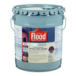 Flood  CWF-UV 5  Matte  Natural  Water-Based  Wood Finish  5 gal.