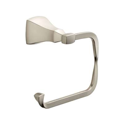 Delta  Sawyer  Satin Nickel  Silver  Toilet Paper Holder