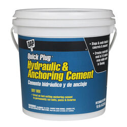 DAP Bondex Quick Plug Hydraulic & Anchoring Cement 10 lb.