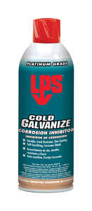 LPS  Corrosion Inhibitor  Galvanized  Light Gray  14 oz. Lubricant Spray
