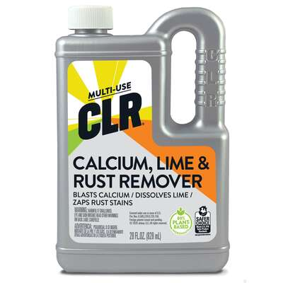 CLR  No Scent Calcium Rust and Lime Remover  28 oz. Liquid