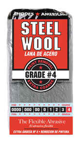 Rhodes American  4 Grade Medium  12  Steel Wool Pad