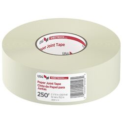 Sheetrock 250 ft. L x 2-1/16 in. W Paper White Joint Tape