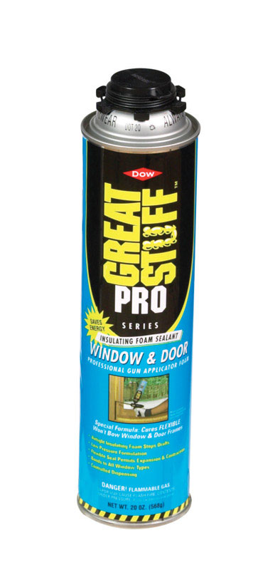 GREAT STUFF  PRO  Yellow  Insulating Sealant  20 oz. Polyurethane Foam