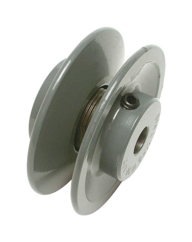 Dial  3-1/4 in. W Cast Iron  Gray  Variable Motor Pulley