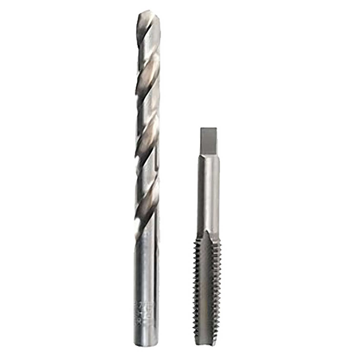 Irwin  Hanson  High Carbon Steel  HCS Tap and HSS Drill Bit Set  NC  2 pc. 1/2 - 13