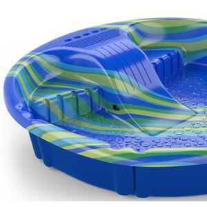 H2O  Econo  100 gal. Round  Plastic  Wading Pool  12 in. H x 5 ft. Dia.