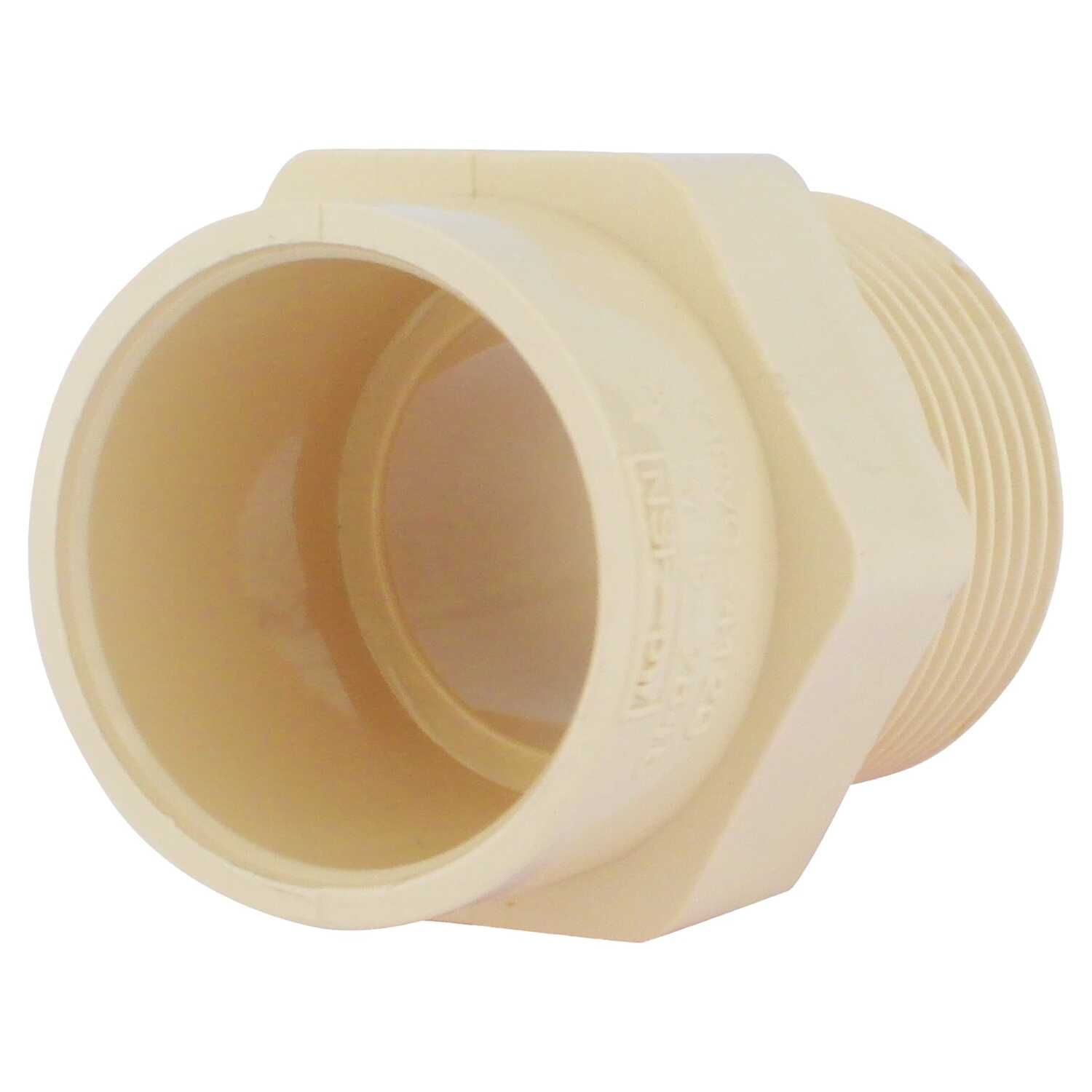 KBI  3/4 in. Hub   x 1/2 in. Dia. MIPT  Reducer Male Adapter