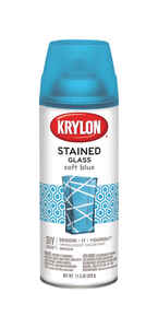 Krylon  Stained Glass  Translucent  Soft Blue  Spray Paint  11.5 oz.