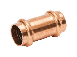 Mueller Streamline Streamline 1/2 in. Press x 1/2 in. Dia. Press Copper Coupling