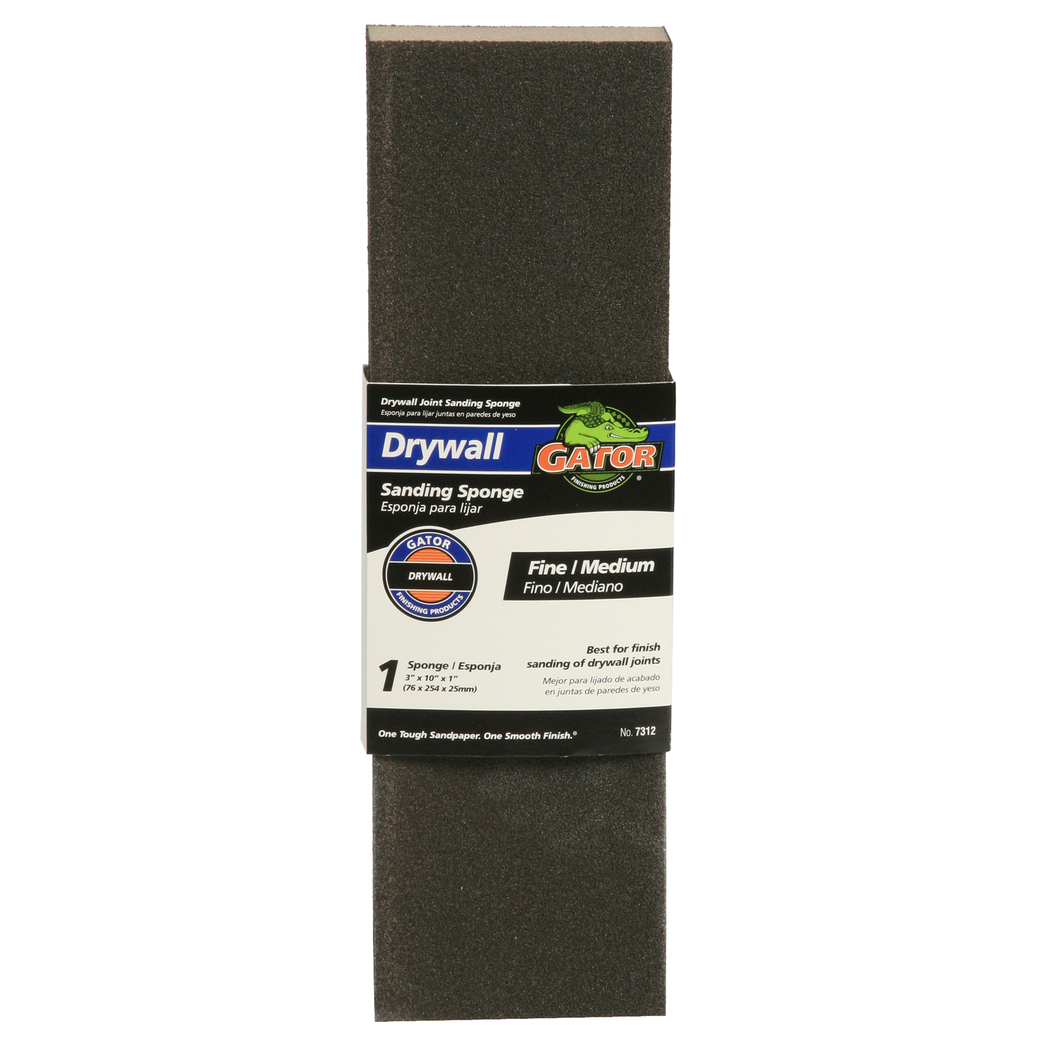 Gator  10 in. L Assorted  Sanding Sponge  120/80 Grit