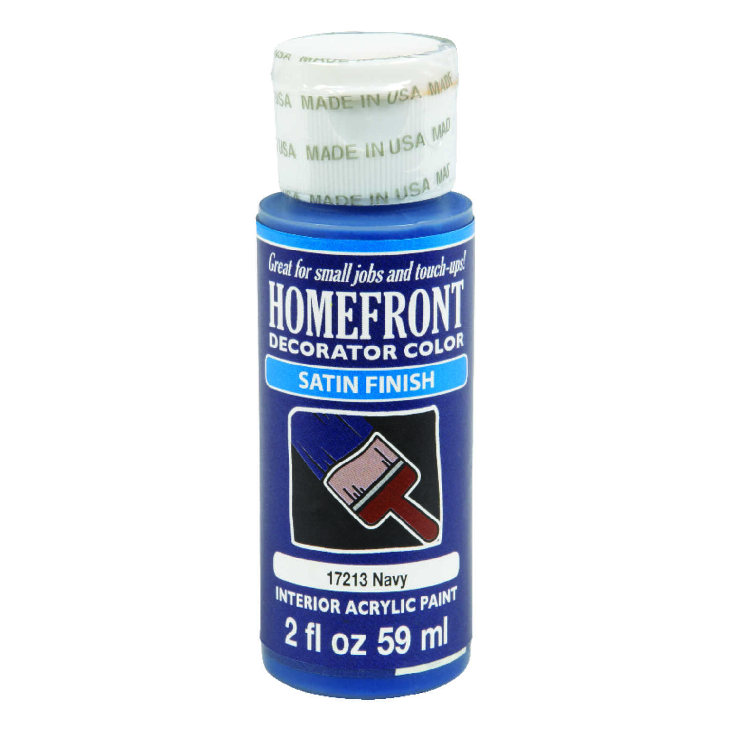 Homefront  Satin  Navy  Hobby Paint  2 oz.