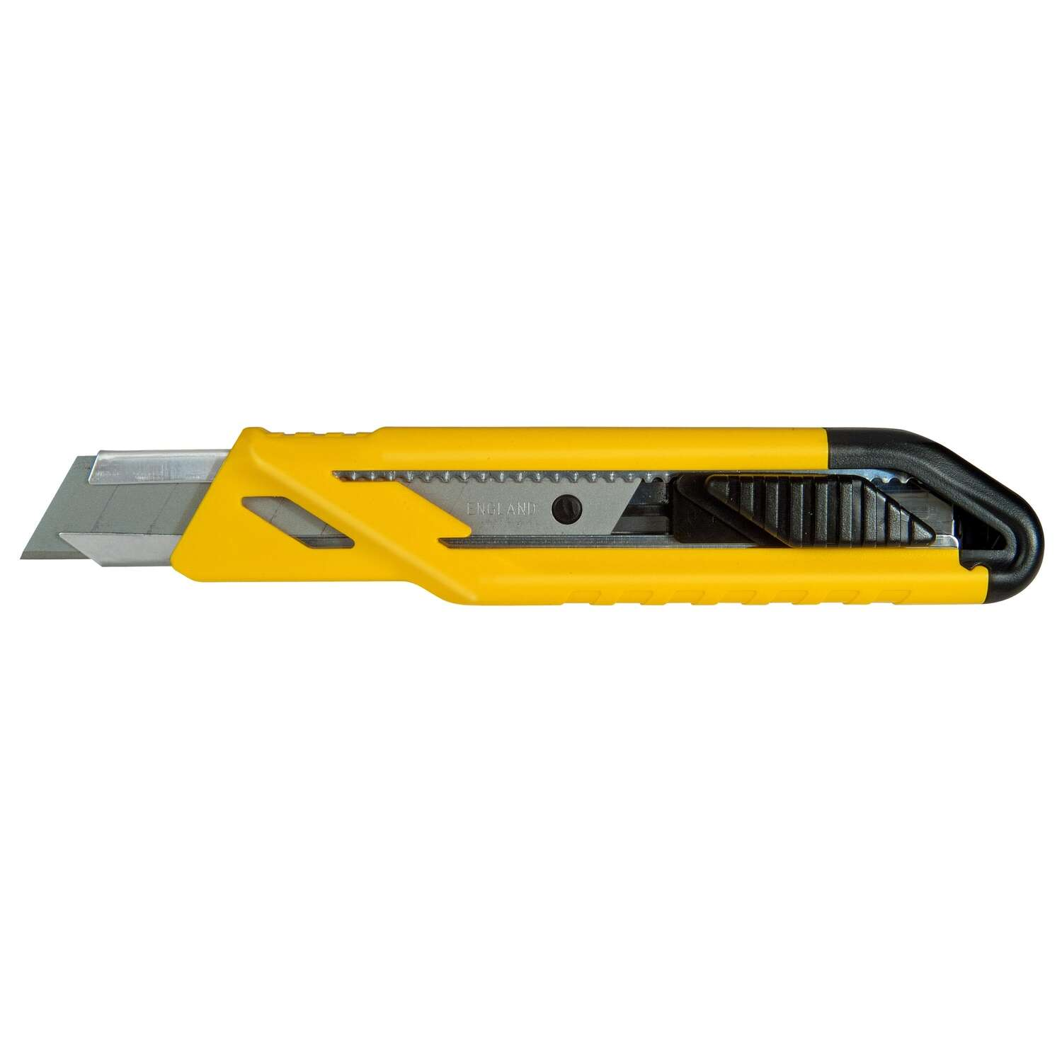 Stanley Retractable Snap-Off Utility Knife Black/Yellow 1 pk