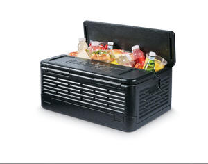 Chill Chest  As Seen On TV  Cooler  41 qt. Black
