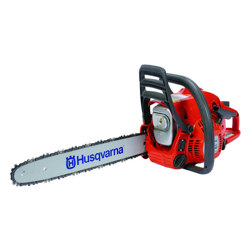Husqvarna  16 in. L Gas Powered  Chainsaw