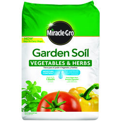 Miracle-Gro  Vegetables & Herbs  Garden Soil  1.5