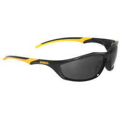 DeWalt Router Anti-Fog Safety Glasses Smoke Lens Black/Yellow Frame 1 pc.