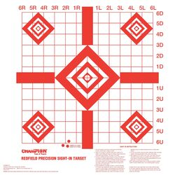 Champion Targets Redfield Sight-In Target 10 pk