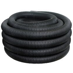 ADS 3 in. Dia. x 100 ft. L Polyethlene Corrugated Drainage Tubing