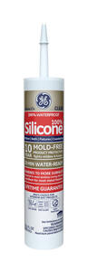 GE  Silicone 2  Clear  Silicone 2  Kitchen and Bath  Silicone  10.1 oz.