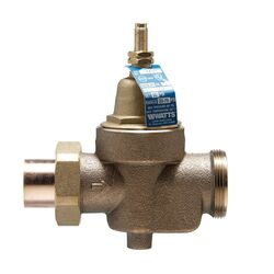 Watts 3/4 in. FNPT Brass Water Pressure Reducing Valve 3/4 in. FNPT 1 pk