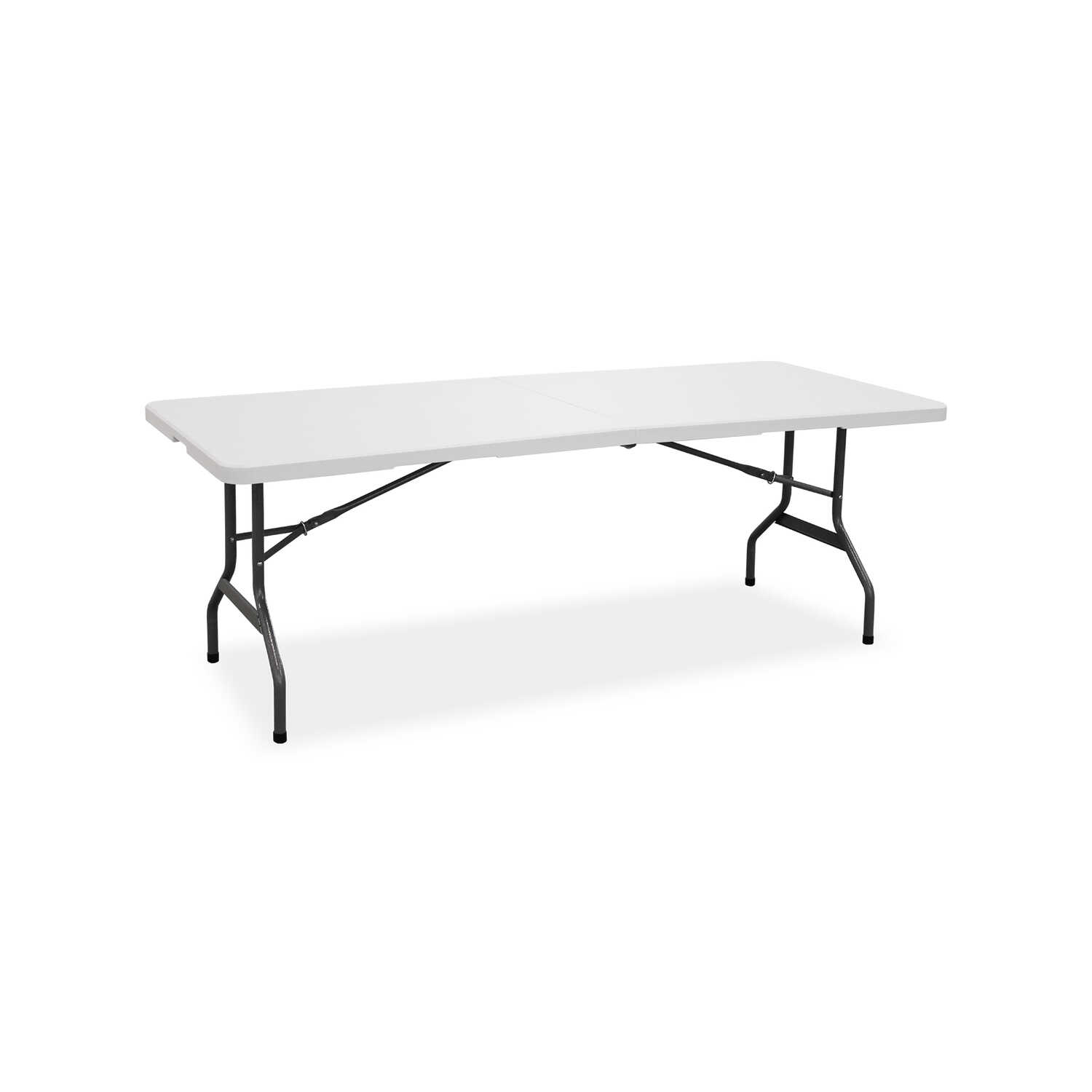 Living Accents  30 in. W x 29-1/4 in. H x 72 in. L Rectangular  Fold-in-Half Table