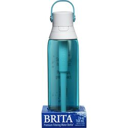 Brita  Premium  26 oz. Filtered Water Bottle  Sea Glass