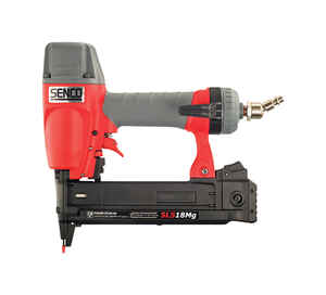 Senco  18 Ga. 1/4 in. Medium Crown  Wire Stapler  Red