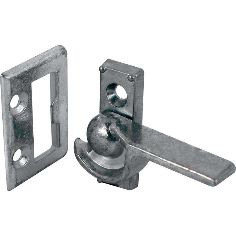 Prime-Line  Aluminum  Window Latch  1 pk