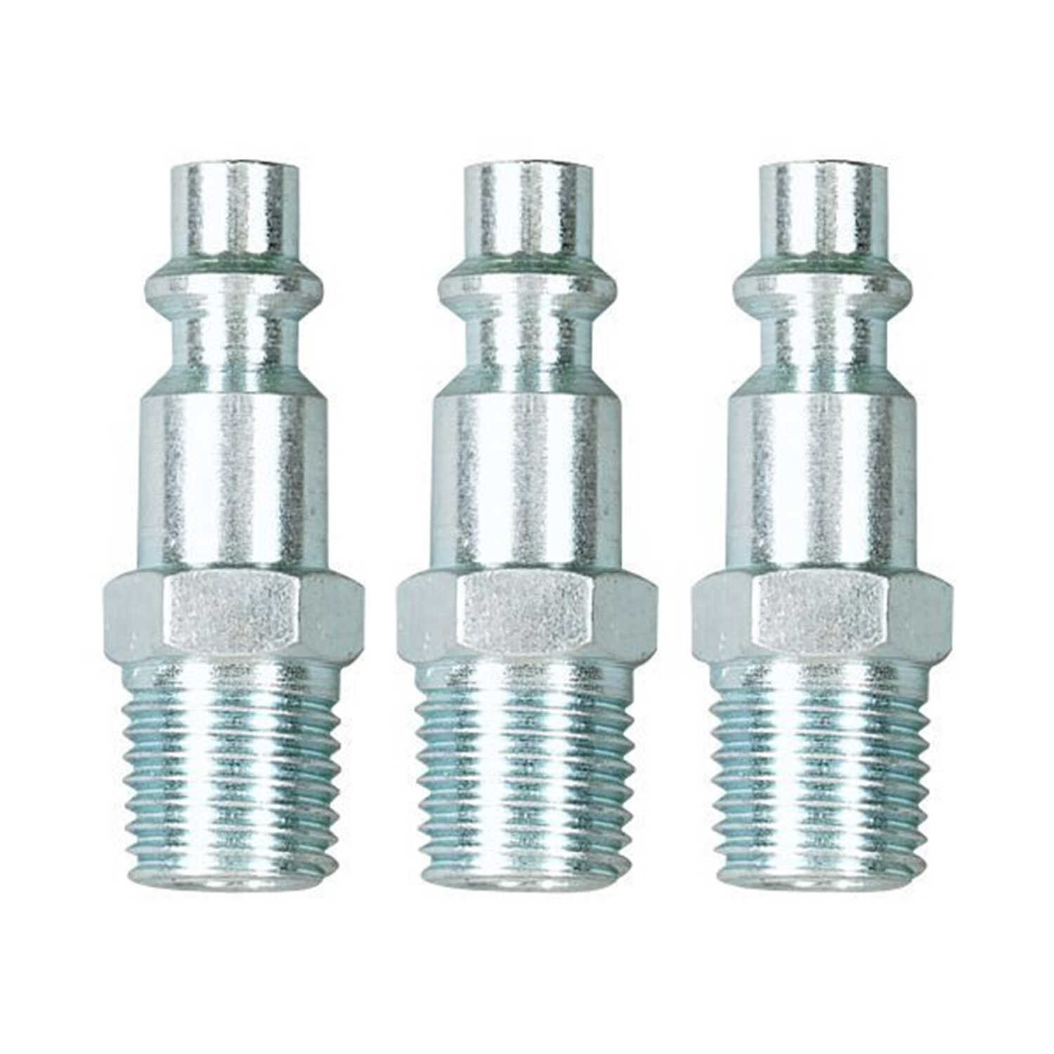 Craftsman  Stainless Steel  Quick Connect Studs  1/4 in. Male  3 pc.