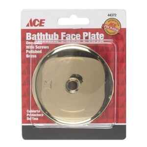 Ace  Brass  Waste And Overflow Plate