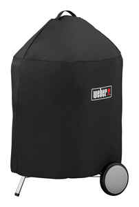 Weber  Black  Grill Cover  For 22 inch Weber charcoal grills 27 in. W x 35 in. H