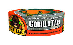 Gorilla  1.88 in. W x 35 yd. L Silver  Duct Tape