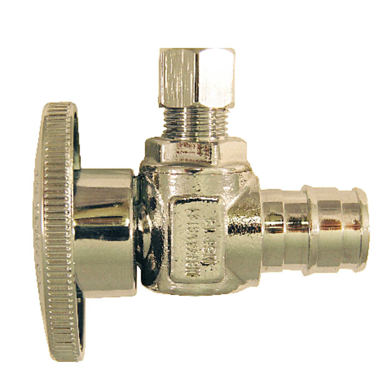Apollo  PEX A  Stop Valve  Chrome Plated