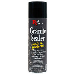 Rock Doctor  No Scent Granite Sealer  18 oz. Spray