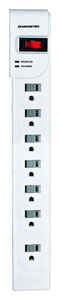 Monster  Just Power It Up  1080 J 6 ft. L 7 outlets Surge Protector