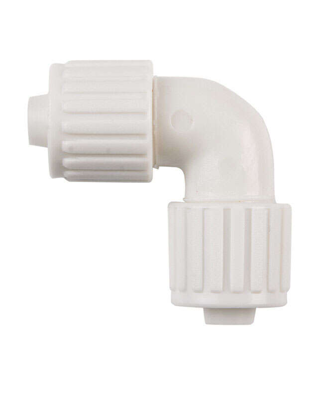 Flair-It 3/8 in. PEX x 3/8 in. Dia. PEX PVC Elbow