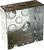 Raco  4-11/16 in. Square  Steel  Junction Box  Gray