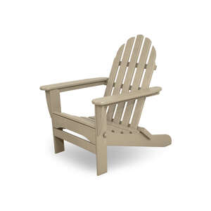 Ivy Terrace  Folding  Tan  Polypropylene  Chair