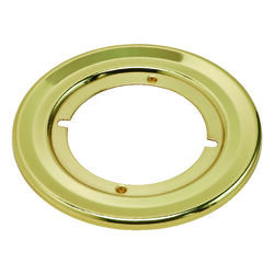Kwikset  Polished Brass  Gold  Steel  Door Knob Rosettes  1 pk