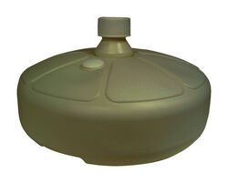 Adams  Portobello  Resin  Umbrella Base  15 in. L x 15 in. W x 8.5 in. H