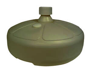 Adams  Portobello  Resin  Umbrella Base  15  L x 5-1/2 in. H x 15 in. W