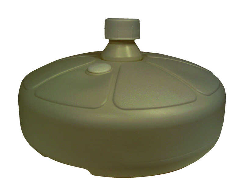 Adams  Portobello  Resin  Umbrella Base  15 in. L x 15 in. W x 5-1/2 in. H