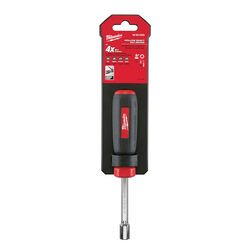 Milwaukee  5/16 in. SAE  Hollow Shaft Nut Driver  7 in. L 1 pc.