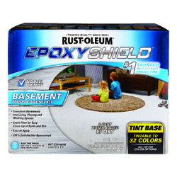 Rust-Oleum  Tint-Base  Basement Floor Coating Kit  2 gal.