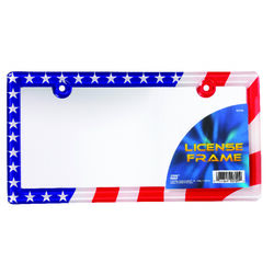 Custom Accessories  Clear  Acrylic  License Plate Frame