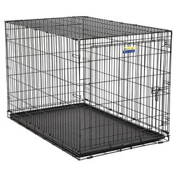 Contour  Extra Large  Steel  Dog Crate  31.9 in. H x 33 in. W x 48 in. D